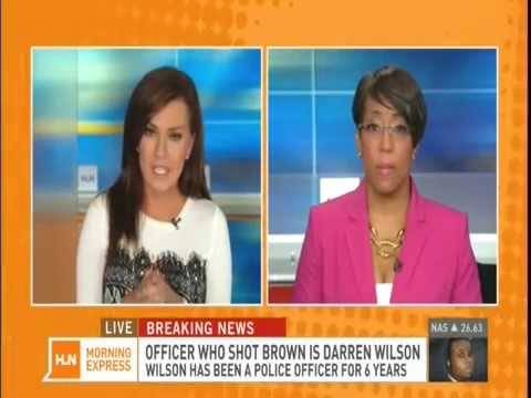 HLN Mo Ivory on the Name Release of Police Officer Wilson for Ferguson Shooting Death Pt 3 8/15/14