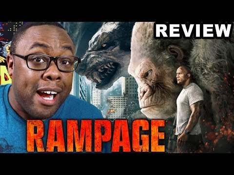 RAMPAGE - MOVIE REVIEW and Easter Eggs RANTS (Black Nerd)