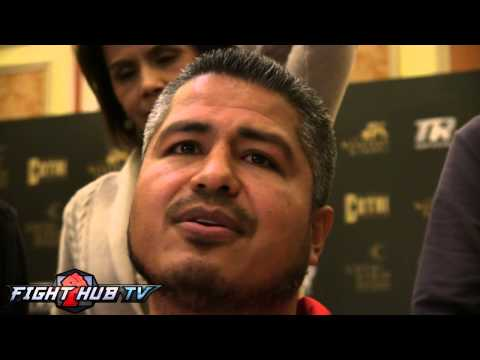 Robert Garcia on Chavez Jr training with him He hasnt come in yet