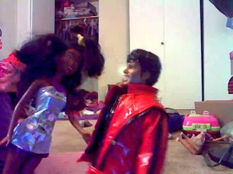 Micheal Jackson Doll exercise video lOl