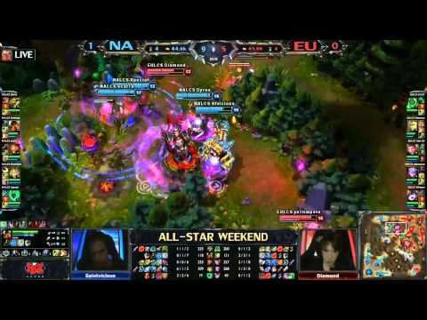 All-Star Shanghái 2013 - LCS Europa vs LCS NA - Partida 2 -