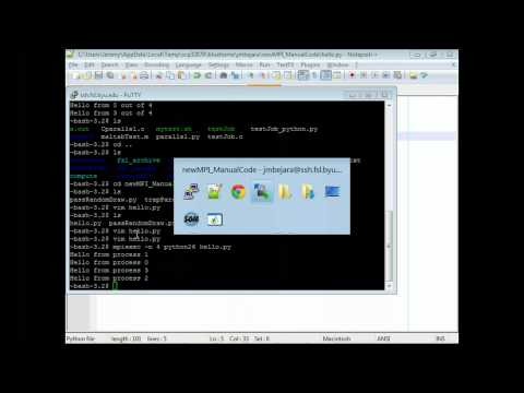 Introduction to MPI with Python and mpi4py part 1 (lecture 2/5)