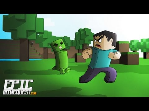 DOBLAJE MINECRAFT ¡ EPIC MINEQUEST 2 spanish fandub