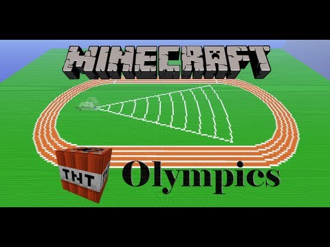 Minecraft TNT Olympics Episode 1: Javelin Throw