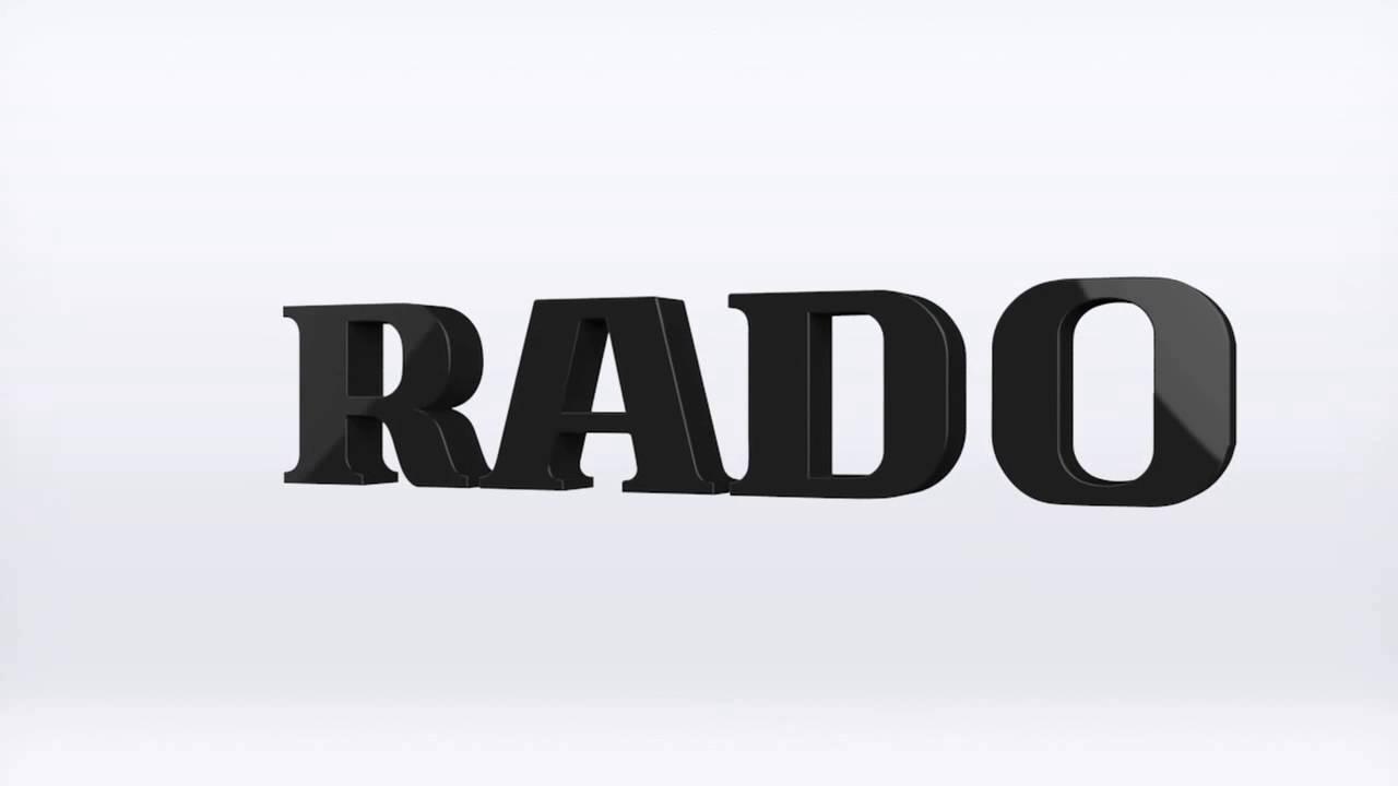 Rado Logo Rado 3d Brand Logo Animation