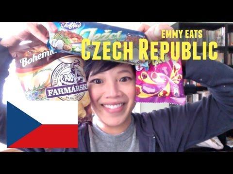 Emmy Eats the Czech Republic part 2 - tasting more Czech treats