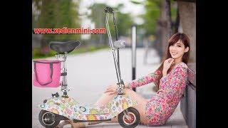 Xe điện mini E-Scooter di động gấp gọn - xu thế 2018