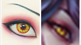Ahri | Tutorial : Anime Eye Makeup 170