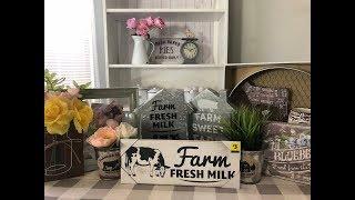 FARMHOUSE DECOR AT DOLLAR GENERAL/HAUL 3-4-18