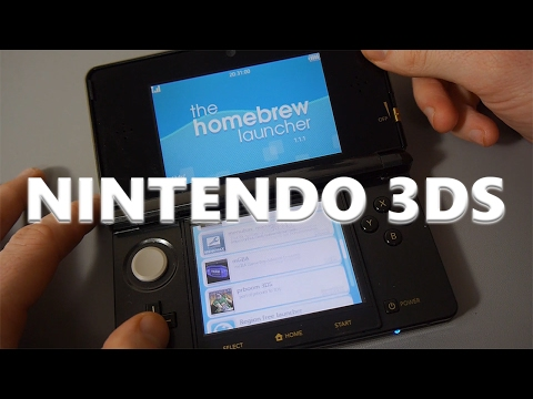 Homebrew Launcher for Nintendo 3DS - A Quick Look