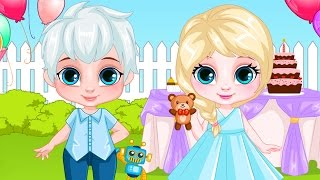 Frozen Movie Game - Baby Elsa & Jack Frost Birthday - Frozen Disney Princess