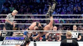 Seth Rollins vs. Ryback - Champion vs. Champion Lumberjack Match: SmackDown, September 10, 2015