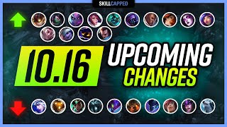 MASS BUFFS PATCH: New Changes in Patch 10.16 - EVERYTHING You NEED to KNOW!