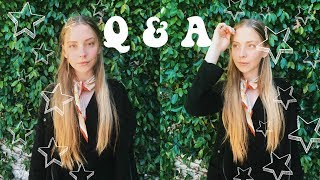 Q & A! ||  Confidence, Spirituality, and Plans after high school |  Luna Montana