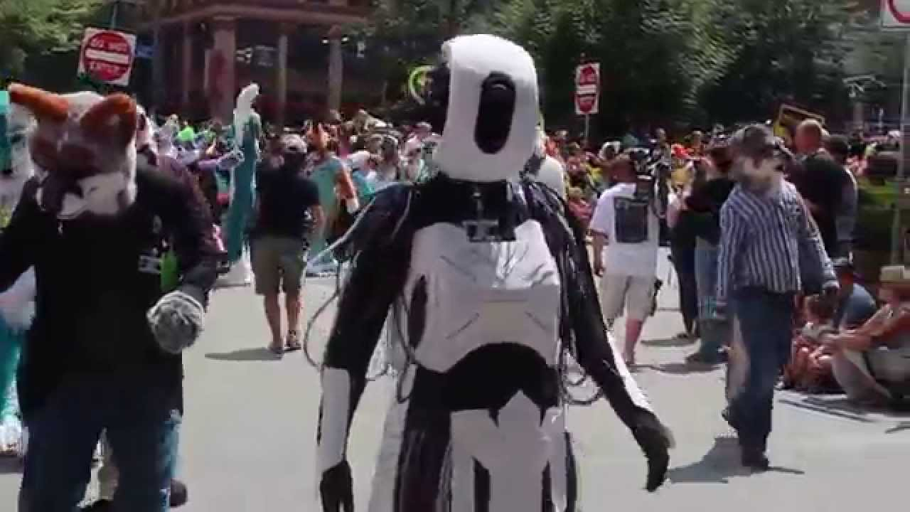 Anthrocon Fursuit Parade Anthrocon 2015 Fursuit Parade