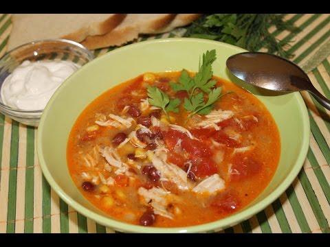 """Куриный суп """"Энчилада"""""""
