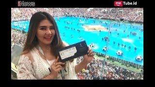 Via Vallen Salah Kostum Ketika Nonton Final Piala Dunia  2018 - i-Tainment 17/07