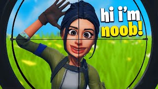 I Pretended it's My First Time Playing Fortnite