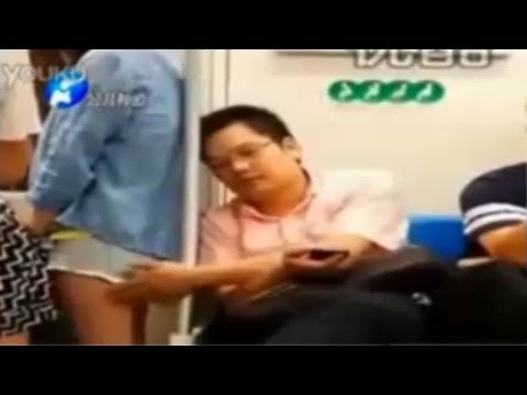 Chinese Politician Gropes Woman On Train Video video
