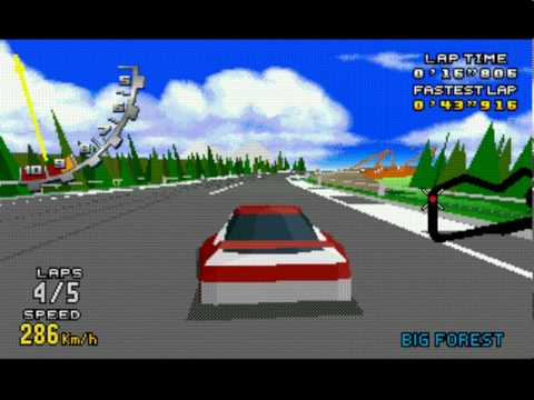 Virtua Racing Deluxe - virtua racing walk all track time trial mode - sega 32x - Vizzed.com Play - User video