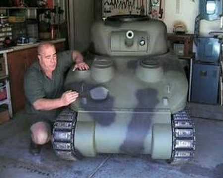 How To Build A 2 5 Th Scale Sherman Tank Part 1 Youtube