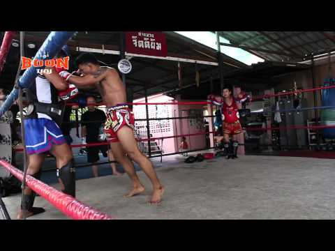 Pakorn Training for Sagetdao - Real Muay Thai Image 1