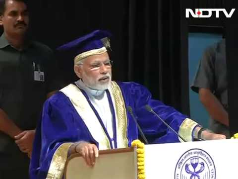 Keep the student in you alive, PM Narendra Modi's advise to AIIMS students