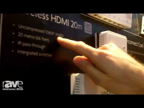 InfoComm 2015: Stampeed Exhibits Wireless HDMI 7m and 20m