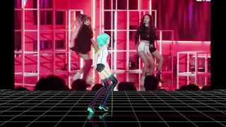 【MMD K-POP】BLACKPINK - DDU-DU DDU-DU (Short Ver.  Motion DL)