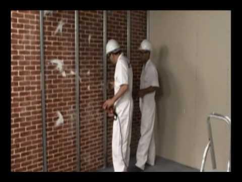 Revestimentos contra parede youtube Planchas para forrar paredes interiores