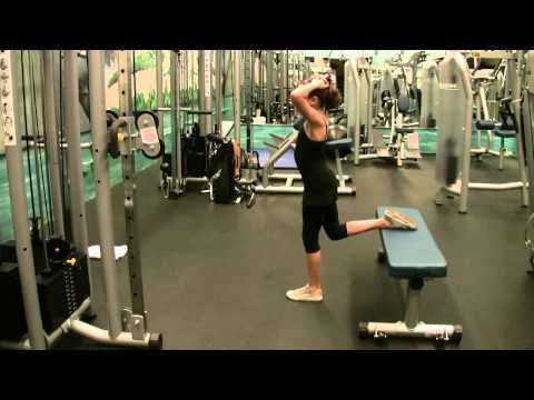 Hips - 1 Leg Split Squat - PreTeen - BW