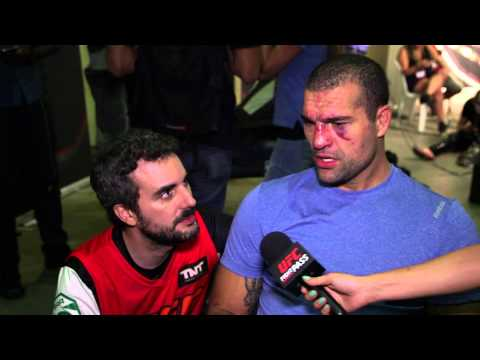 UFC 190: Shogun Rua Backstage Interview