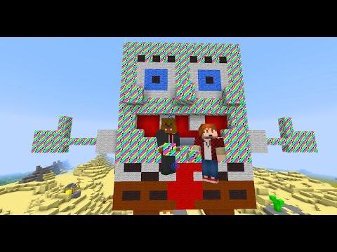 Minecraft Rainbow Lucky Blocks (spongebob Bikini Bottom) + Op Bosses & Op Weapons video