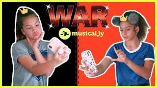 "MUSICAL.LY WAR "" HOW TO MAKE CLEAR EMOJI ON MUSICALLY "" SISTER FOREVER"