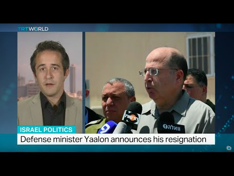 Israel's defence minister Moshe Yaalon resigns, Gregg Carlstrom reports