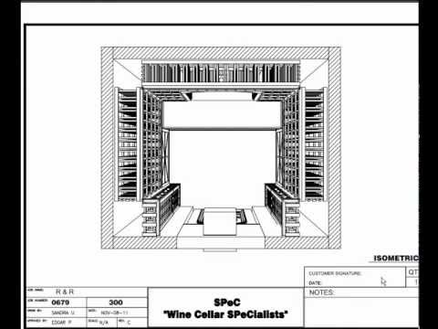 Residential Custom Wine Cellars -- Atlanta Georgia R&R