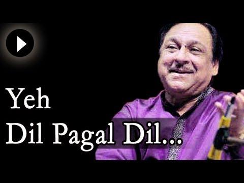 Yeh Dil Yeh Pagal Dil Mera - Ghulam Ali Songs- Ghazal - Mehfil...