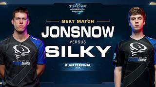 Silky vs JonSnow ZvZ - Quarterfinals - WCS Challenger NA Season 1