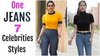 One JEANS To WEAR In 7 Bollywood STYLES - Dress Like Deepika, Priyanka, Alia | Anaysa
