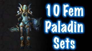 10 Cool Paladin Transmog Sets (World of Warcraft)