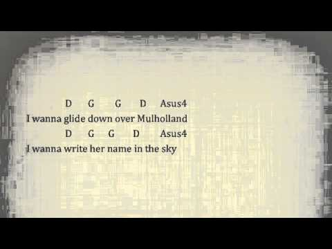 Free Fallin' by Tom Petty - Lyrics & Chords