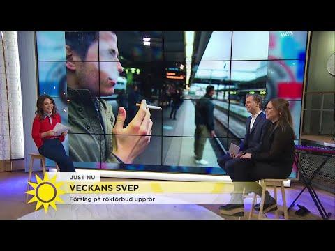 """Nya rökförbudet: """"Krogen kommer att bli helt rökfri"""" - Nyhetsmorgon (TV4)"""