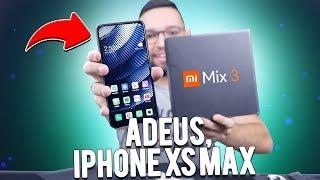MI MIX 3 | TROQUEI meu iPHONE XS MAX por um XIAOMI e NÃO ME ARREPENDO!