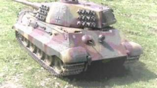 1/4 King Tiger German Heavy Tank