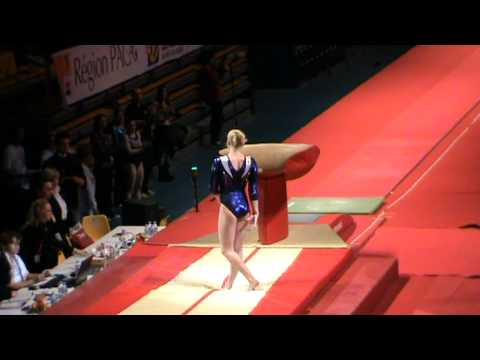 Tatiana Nabieva wins vault at Massilia 2011 (vt 1)