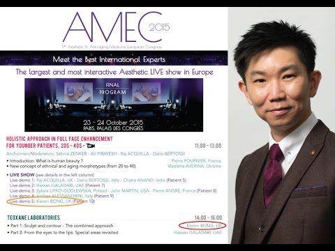 Dr Kieren Bong - Paris AMEC 2015 - Anti Ageing Medicine European Congress