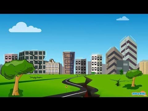 What is an Earthquake? Facts & Information - Geography for Kids | Educational Videos by Mocomi