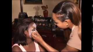 Beauté | Maquillage de scène avec Adja Astou