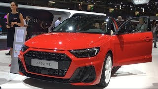 New Audi A1 2019 - first look and FULL REVIEW (A1 30 TFSI S line)