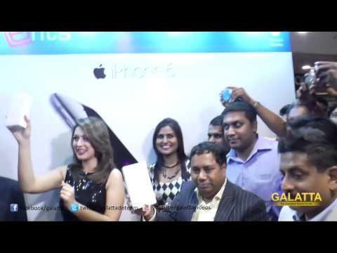 Hansika Launches Apple iPhone 6 at Phoenix Market City